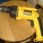 DeWalt Drill 150x150 Home Studio Project   Challenges