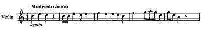 Violin  Articulations - Legato