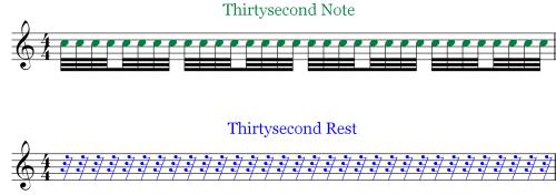 Musical Rest - Comaparison - TR - TN