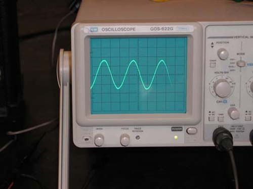 Oscilliscope Frequencies   Acoustics of Music   Part 3