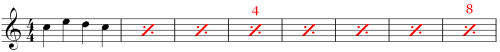 Extended view of 8 Measures