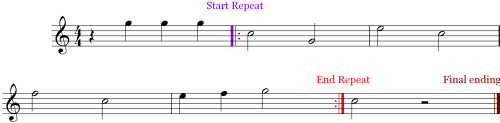 Color - Replays in Music