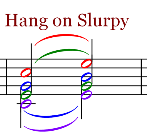 Tand S Hang on Slurpy Ties and Slurs   Music Theory   Part 18