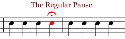 Music Notation - Regular Fermata