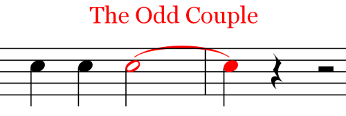 Ties and Slurs Odd Couple Ties and Slurs   Music Theory   Part 18