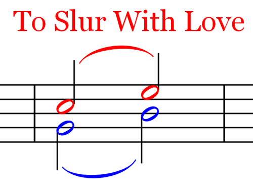 Ties and Slurs To Slur With Love Ties and Slurs   Music Theory   Part 18