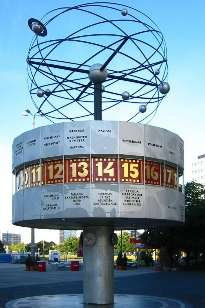 Time Signatures - Berlin_-_Weltzeituhr