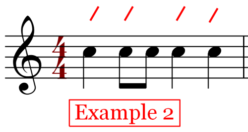 Notes on the Beat - 4-4 time