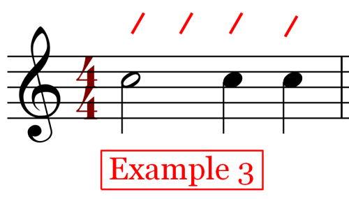Notes on the Beat - Variation - Whole Note