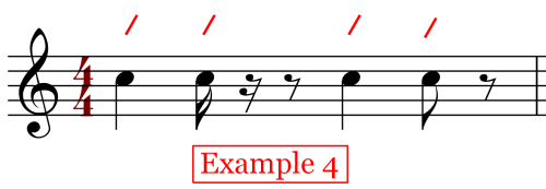 Notes on the Beat - In 4-4 Time
