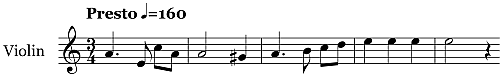Quartet No 15 in A minor Op132 5th Mvt 500 Time Signatures   22d