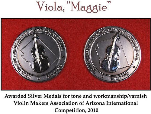 Silver Medals - Luthier O'Neill