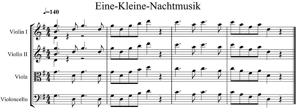 Mozart - A Little Night Music