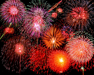 Bringing in the New Year - Fireworks