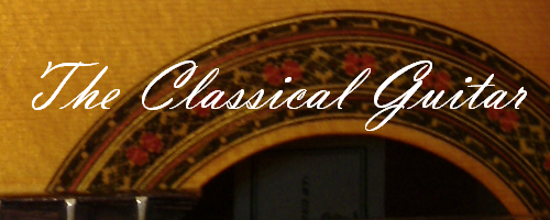 Classical Guitar - Banner - 8 - 500x200