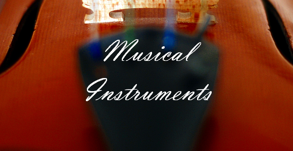 Violin Musical Instruments 580x300 Musical Instruments