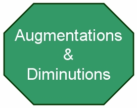 Ornamental Categories - Embellishments - Augmentations and Diminutions